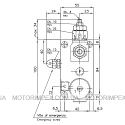 Гидравлические блоки VС-DC-C-VMP-20 для гидроцилиндров одностороннего действия (для лифтов)