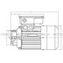 Трехфазные асинхронные электродвигатели KAT