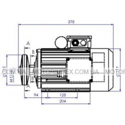 Монофазные электродвигатели AER90LX