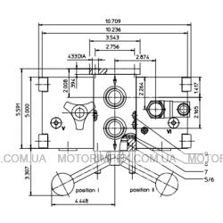 Фильтры напорные EHD переключаемые из нержавеющей стали