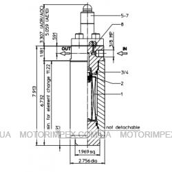 Фильтры напорные EHP из нержавеющей стали
