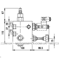 Гидравлические блоки VE/B/VMP/VUI/SR для гидроцилиндров одностороннего действия (для лифтов)