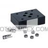 Монтажные плиты ZP700 с дросселем/обратным клапаном