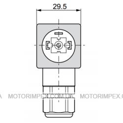 Электрические разъёмы DIN 43650/ISO4400 и AMP