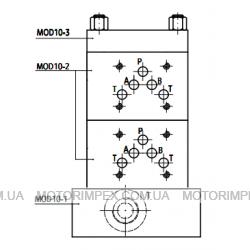 Секционные (модульные) монтажные плиты MOD10