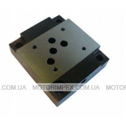 Монтажные плиты типа G для гидрораспределителей и клапанов WE10, WH10, WMM10, WMD10, UZRB10, UZRC10, UZKC10, WZZC10, Z2S10, Z2FS10, USPH4, UZPR10 и UZUC10