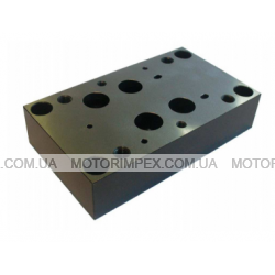Монтажные плиты типа G для гидрораспределителей и клапанов WEH16, WH16, WMM16, Z2S16 и Z2FS16