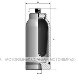 Гидроаккумуляторы мембранные HTRX из нержавеющей стали