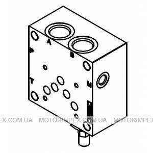 Монтажные плиты с предохранительным клапаном BASE CETOP 5 C/VMP Oleodinamica Marchesini