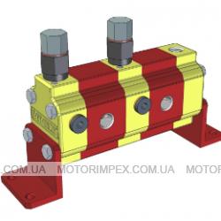 Делители потока RV-0V с предохранительными клапанами