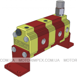 Делители потока RV-0S с предохранительным клапаном