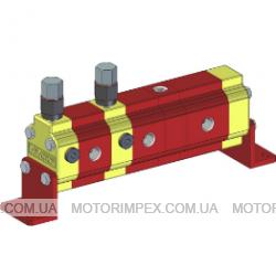 Делители потока RV-0N с гидромотором и предохранительными клапанами