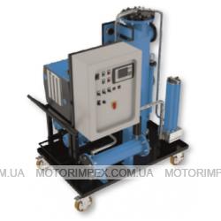 Системы обезвоживания и дегазации рабочей жидкости  OPS010 и OPS550