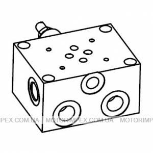 Монтажные плиты с предохранительным  клапаном BASE CETOP 3 C/VMP Oleodinamica Marchesini